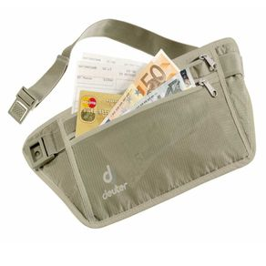 Pochete Deuter Security Money Belt Cor:Bege