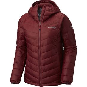 Jaqueta Columbia Snow Country Hooded Lady Cor:Rich Wine;Tamanho:PP