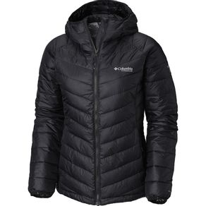 Jaqueta Columbia Snow Country Hooded Lady Cor:Black;Tamanho:PP
