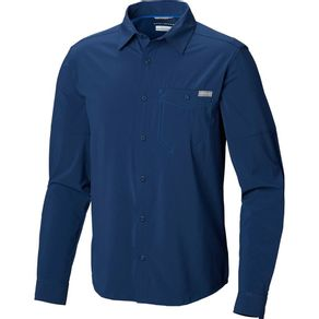 Camisa Columbia Triple Canyon Solid M/L Cor:Carbon;Tamanho:P