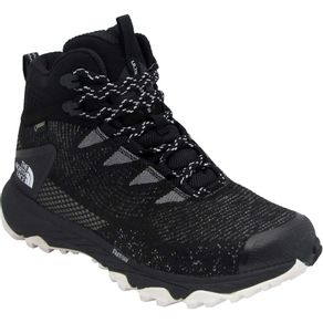 Bota The North Face Ultra Fastpack III Mid GTX Lady (Woven) Cor:Tnf Black/Tnf White;Tamanho:34
